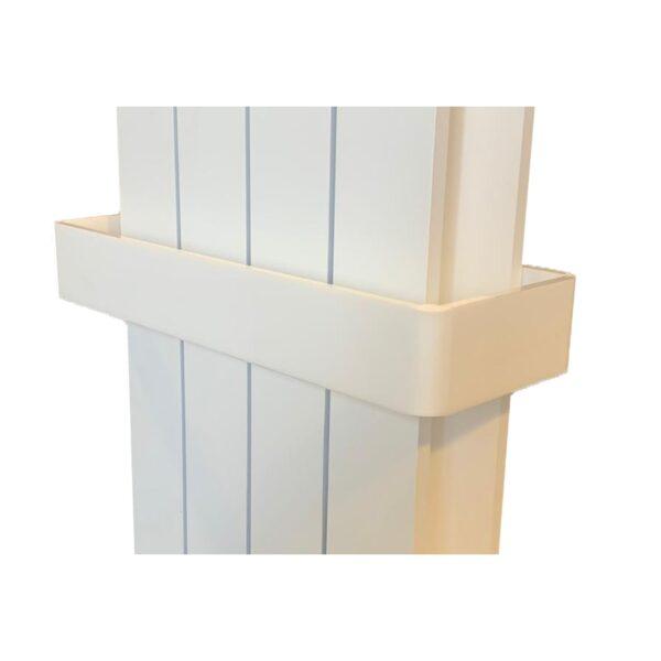 PAPI BARRA – Kalmar reling na ręczniki biały